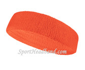 Couver Peach sport head sweatband