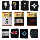 Naruto Ninja OFFICIALLY LICENSED Villages & Characters Wristbands