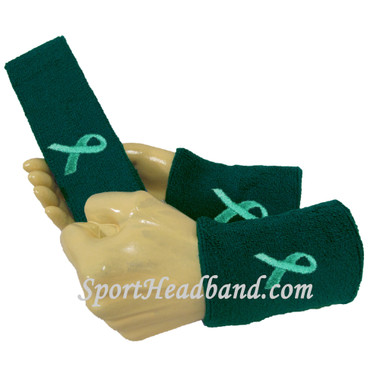 adult-support-cervical-ovarian-cancer-awareness-teal-ribbon-sport-sweat-headband-wristbands