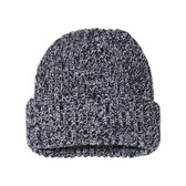 COUVER Blaze Chunky Knit Cuff Roll Up Skull Beanie Cap