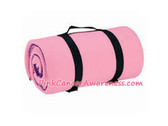 Pink Cancer awareness Fleece Blanket