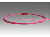 Bright Pink Titanium Germanium Power Necklace