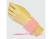 Light Pink Cheap Cancer awareness 2.5 inch Wrist Band, 1PC