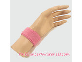 Pink 1inch Kids Sports Wrist Band, 1PIECE