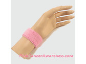 Light Pink 1inch Kids Sports Wrist Band, 1PIECE