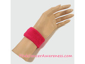 Hot Pink 1inch Kids Sports Wrist Band, 1PIECE