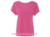 Ladies' Eco-Jersey Dreamer T-Shirt - Eco True Azalea