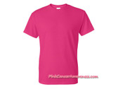 Hot Pink DryBlend Cotton/Polyester T-Shirt