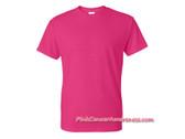 Hot Pink DryBlend Cotton/Polyester T-Shirt