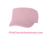 Light Pink 100% Cotton Newsboy Cap