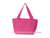 Hot Pink Recycled Lunch Bag