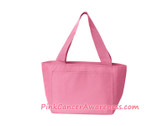 Pink Recycled Lunch Bag