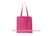 Hot Pink Recycled Tote Bag