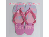 Love Hope Cure Flip Flops