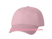 Light Pink Cotton Twill Cap