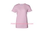 Light Pink Ladies Ultra Cotton T-Shirt
