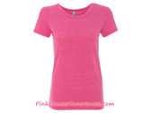 Ladies' Eco-Jersey Ideal Tee - Eco True Azalea