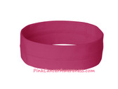 Charity Pink Breast Cancer Awareness Nylon Head Band