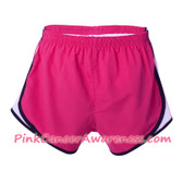 Hot Pink Ladies' Novelty Velocity Running Short