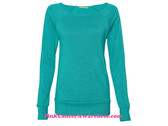 Teal Ladies' Maniac Eco-Fleece Sweatshirt