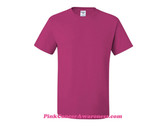 Hot Pink Heavyweight Blend 50/50 T-Shirt