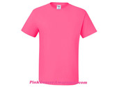Neon Pink Heavyweight Blend 50/50 T-Shirt