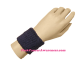 Dark Purple Cheap 2.5 inch Wrist Band, 1PC