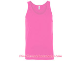 Unisex Jersey Tank - Neon Pink