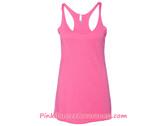 Ladies' Triblend Racerback Tank - Vintage Pink