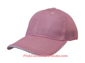 Pink Constructed Cooldry Sandwich Foam Mesh Just Fit Cap