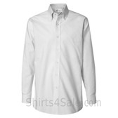 White Pinpoint Oxford dress shirt
