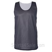 Navy Reversible tank shirt for men