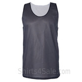 Navy Reversible tank shirt for men