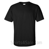 Black Cotton mens t shirt