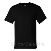 Champion Black Short Sleeve Tagless men's tee shirt