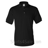 Black Dry Blend Jersey mens Sport polo shirt