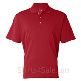 Adidas Red Golf Polo