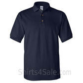 Navy Cotton polo shirt for men