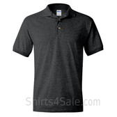 Charcoal Dry Blend Jersey mens Sport polo shirt