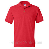 Red Dry Blend Jersey mens Sport polo shirt