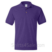 Purple Dry Blend Jersey mens Sport polo shirt