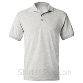 Light Gray Dry Blend Jersey mens Sport polo shirt
