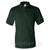 Dark Green Dry Blend Jersey mens Sport polo shirt