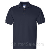 Navy Ultra Cotton Jersey men's Sport polo shirt