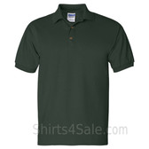 Dark Green Ultra Cotton Jersey men's Sport polo shirt