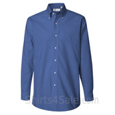 Cerulean Blue Pinpoint Oxford dress shirt