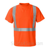 Dark Orange High Performance reflective tape T-Shirt