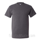 Champion Charcoal Short Sleeve Tagless men's tee shirt