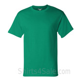 Champion Green Short Sleeve Tagless men's tee shirt