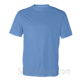 Columbia Blue T-Shirt with Sport Shoulders
